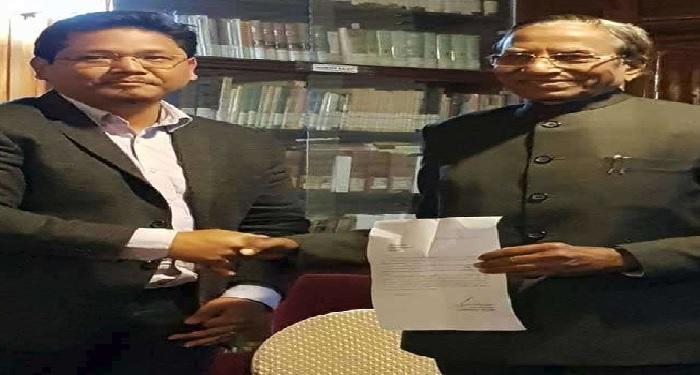 meghalaya मेघालय में बीजेपी ने महज तीन घंटे में बाजी पलटते हुए कांग्रेस के हाथों से छीनी सत्ता