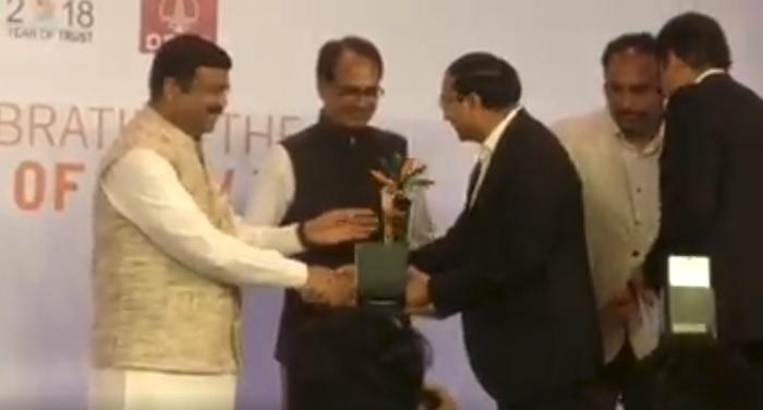 मसूरी देहरादून विकास प्राधिकरण ने प्रतिष्ठित इंडिया प्राइड अवार्ड 2017-18 जीता
