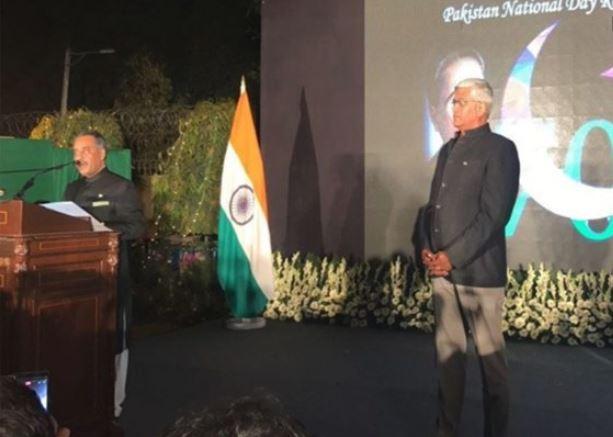 pakistan पहली बार पाक दिवस की परेड में शामिल हुए भारतीय राजनयिक