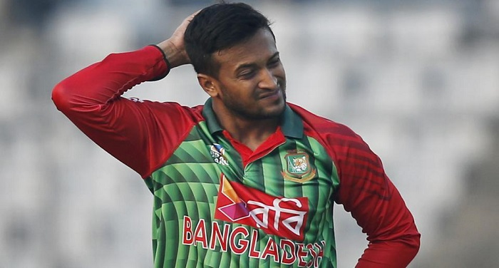 shakib al hasan b9140ce0 285b 11e8 a8dd 98cd3615fcfa मैच के दौरान की श्रीलंकाई टीम से की बदसलूकी,आईसीसी ने लगाया जुर्माना