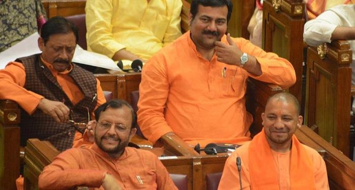thuresday hindustan pradesh elected narayan adityanath minister 1b9bf460 1550 11e7 a5d6 c47fceabb9c0 विधानसभा में पास हुआ यूपीकोका, सीएम बोले कानून व्यवस्था को करेंगे दुरुस्त