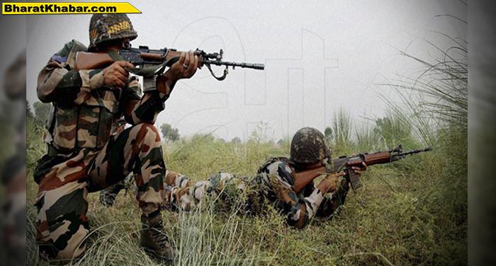 जम्मू-कश्मीर के कुलगाम के नागनाद चिम्मेर इलाके में मुठभेड़, तीन आतंकी ढेर