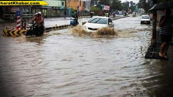 यूपी में अगले 24 घंटों में भारी बारिश को लेकर मौसम विभाग ने जारी किया अलर्ट