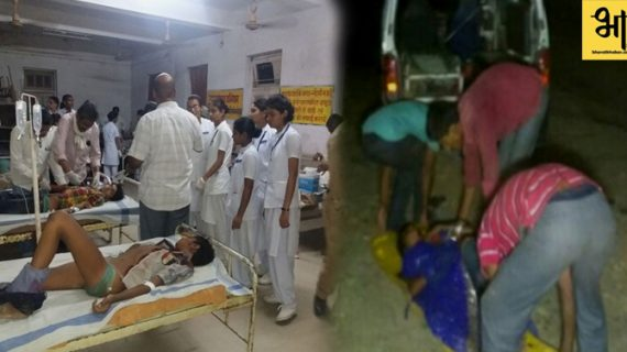मध्य प्रदेश जिले में बारातियों से भरा ट्रक नदी में गिरा, हादसे में 21 लोगों की मौत