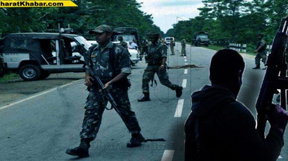आतंकवादियों के हमले में दो असम राइफल्स जवान शहीद, चार घायल