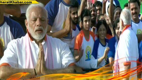 इंटरनेशनल योग दिवस के मौके पर भी ये काम करना नहीं भूले पीएम मोदी