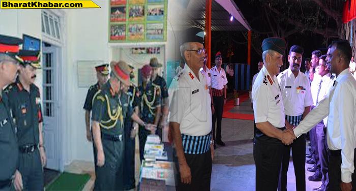 04 46 जनरल बिपिन रावत की एईसी ट्रेनिंग कॉलेज और पचमढ़ी केंद्र की दो दिवसीय यात्रा खत्म