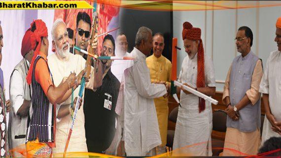 प्रधानमंत्री नरेंद्र मोदी ने की उत्तर प्रदेश, उत्तराखंड, पंजाब, महाराष्ट्र और कर्नाटक के गन्ना किसानों से मुलाकात