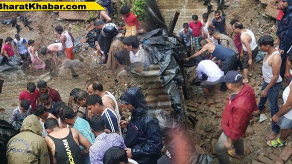 देहरादून के बसंत विहार थाना क्षेत्र में पुस्ता गिरने से 4 लोगों की मौत, 2 घायल