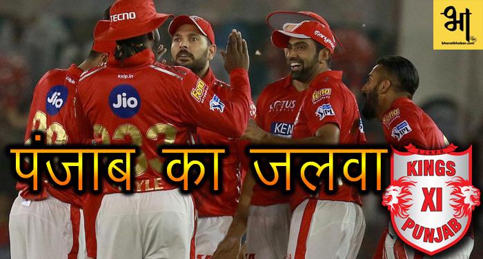 पंजाब की विस्फोटक बल्लेबाजी आगे परास्त हुई चेन्नई, चार रनों से जीता मैच