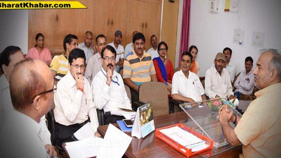 खेल एवं युवा कल्याण मंत्री अरविन्द पाण्डेय की अध्यक्षता में आयोजन हुई बैठक सम्पन्न