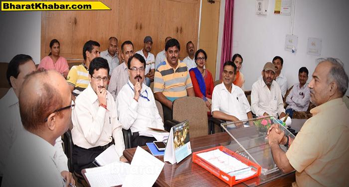 18 28 खेल एवं युवा कल्याण मंत्री अरविन्द पाण्डेय की अध्यक्षता में आयोजन हुई बैठक सम्पन्न