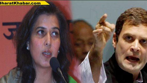 सांसद सरोज पांडे ने राहुल को कहा मंदबुद्धि