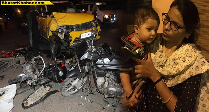 36 सूरत में हुआ एक दर्दनाक सड़क हादसा,हादसे में तीन की मौत