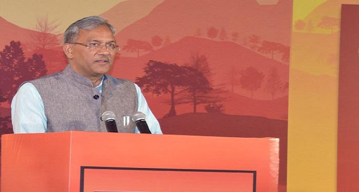 CM Photo 12 dt.01 April 2018 सीएम रावत का ऐलान, साल 2020 तक गंगा को प्रदूषण मुक्त करेगी सरकार