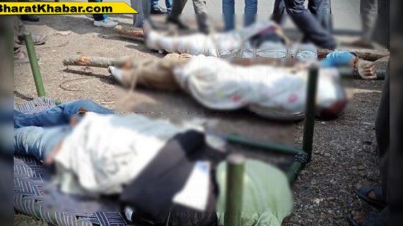 हिमाचल प्रदेश: मंडी में हुआ दर्दनाक सड़क हादसा,पंचायत समिति उपाध्यक्ष समेत तीन की मौत