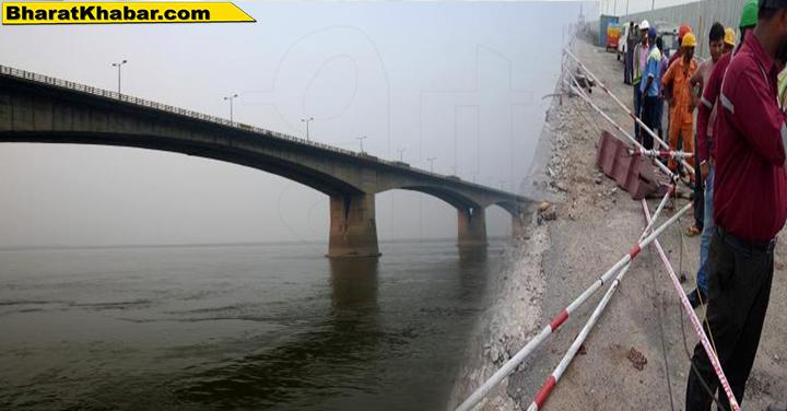 बिहार के गांधी सेतु पर हुआ दर्दनाक हादसा,गांधी सेतु की रेलिंग तोड़कर गंगा नदी में गिरी गाड़ी