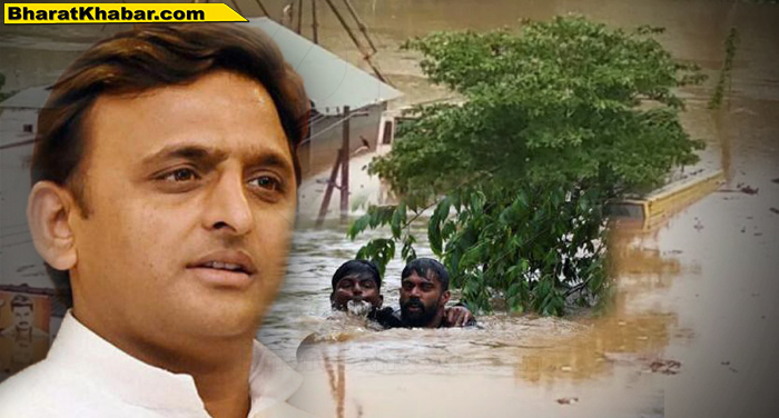 akhilesh flood पूर्व मुख्यमंत्री अखिलेश यादव ने केरल में बारिश और बाढ़ से जूझ रहे लोगों की मदद के लिए ट्वीट किया