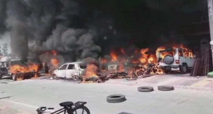 bharat band 1 दलित संगठनों के भारत बंद के चलते जला देश, 9 लोगों की मौत