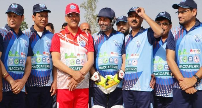 सीएम रावत ने किया उत्तराखण्ड कॉरपोरेट क्रिकेट लीग-2018 का शुभारम्भ