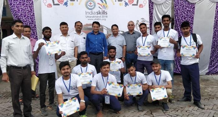 युवाओं के हुनर को उभारने के उत्तराखण्ड-2018 कौशल प्रतियोगिता का आयोजन