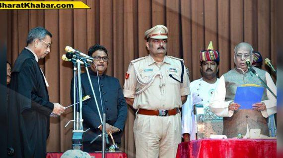 राजभवन में लालजी टंडन ने बिहार के नए राज्यपाल पद की शपथ ली