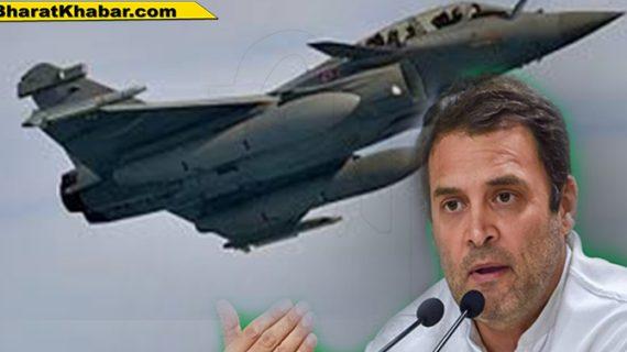 राफेल सौदे को लेकर पीएम नरेंद्र मोदी पर कांग्रेस अध्यक्ष राहुल गांधी का लगातार हमला