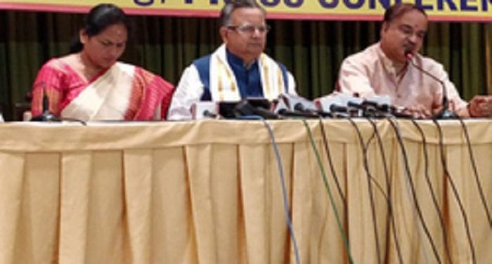 कांग्रेस दलित और किसान विरोधी है: मुख्यमंत्री रमन सिंह