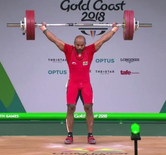 satish shivangalam राष्ट्रमंडल खेल : भारोत्तोलन में भारत को पांचवा पदक, सतीश शिवलिंगम ने जीता स्वर्ण