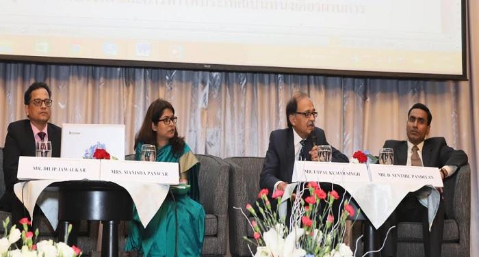 थाईलैंड में आयोजित सेमिनार में शामिल हुए मुख्य सचिव उत्पल कुमार, मनीष पवार, डी.संथिल पांडियन और दिलीप जावलकर