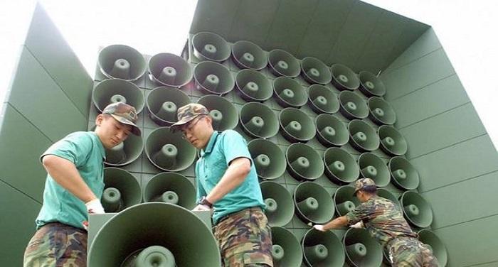 south korea कोरियाई प्रायद्वीप में होती शांति, साउथ कोरिया ने सीमा पर लगे लाउडस्पीकरों को हटाया