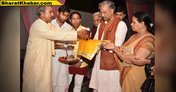 उत्तराखंडः त्रिवेन्द्र सिंह रावत ने हरिद्वार गणेश महोत्सव में सूबे की खुशहाली की कामना की