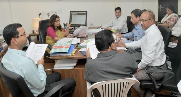 uttrakhand प्रमुख सचिव मनीषा पवार ने ग्राम स्वराज अभियान के सफल आयोजन के संबंध में बैठक की
