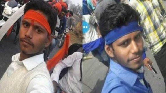 दलित हिंसा पर उठे सवाल, हिंसा करने वाला शख्स दिखा था करणी सेना के आंदोलन में