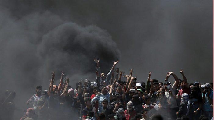 यरूशलम में अमेरिकी दूतावास के लेकर भड़की हिंसा, 58 की मौत, 2 हजार से ज्यादा घायल