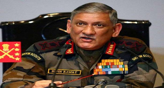 25 10 2017 bipinrawat loc सेना प्रमुख की दो टूक, कश्मीर की आजादी चाहने वालों की इच्छा कभी नहीं होगी पूरी