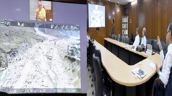 पीएम मोदी ने लिया केदारनाथ पुननिर्माण का जायजा, राज्य सरकार के कार्यों की सराहना
