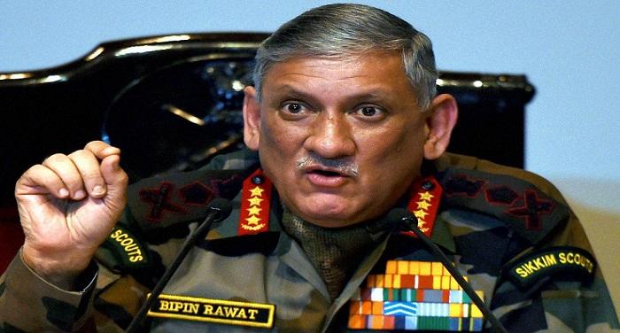 bipin rawat जनरल बिपिन रावत का बड़ा बयान, 'कभी नहीं होगी कश्मीर की औजादी, सेना से मत उलझो'