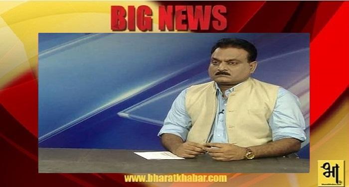 सीनियर टीवी जर्नलिस्ट सुधाँशु माथुर को पितृ शोक