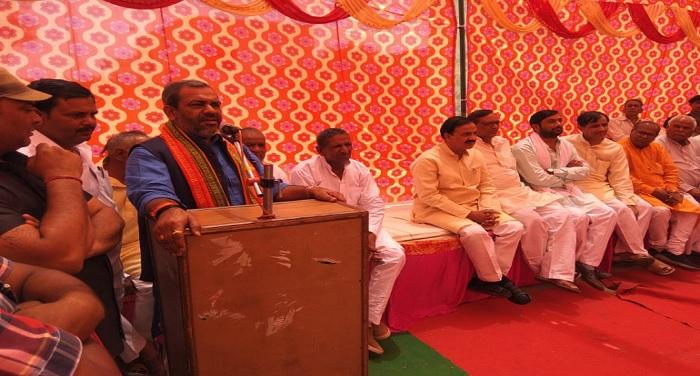 कैराना में हिंदुत्व को बचाने के लिए बीजोपी के पक्ष में मतदान करें: सुनील भराला