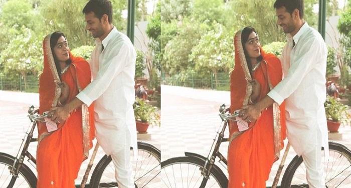 तेजप्रताप यादव ने एशवर्या को कराई साइकल की सैर, देखें तस्वीरें