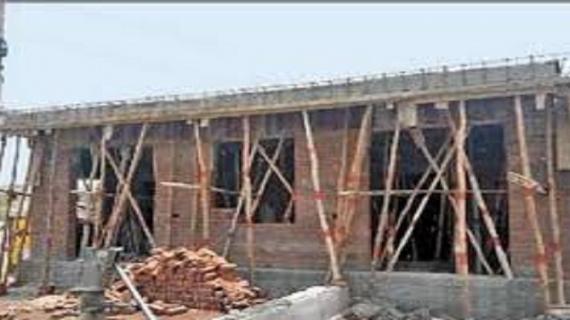 राजस्थानःतलहटी में बन रहा था सुलभ कॉम्पलेक्स यूआईटी ने लगाई आपत्ति