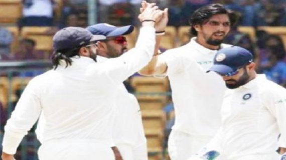 INDvsAUS: भारत की दूसरी 307 रन पर ढ़ेर, ऑस्ट्रेलिया की दूसरी पारी शुरु