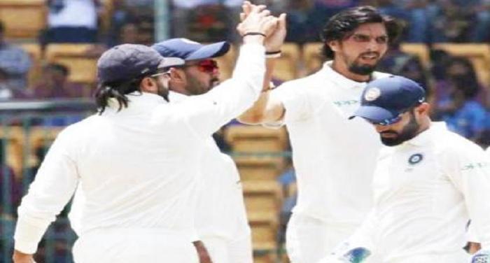 TEST INDvsAUS: भारत की दूसरी 307 रन पर ढ़ेर, ऑस्ट्रेलिया की दूसरी पारी शुरु