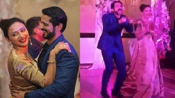 अमिताभ के गाने पर हितेन तेजवानी का पत्नि संग डांस, वीडियो हुआ वायरल