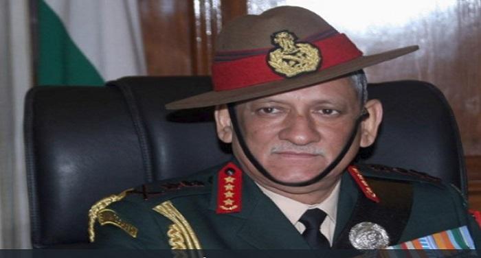 bipin rawat राष्ट्रपति के फैसले पर सेना प्रमुख जनरल बिपिन रावत ने दी प्रतिक्रिया