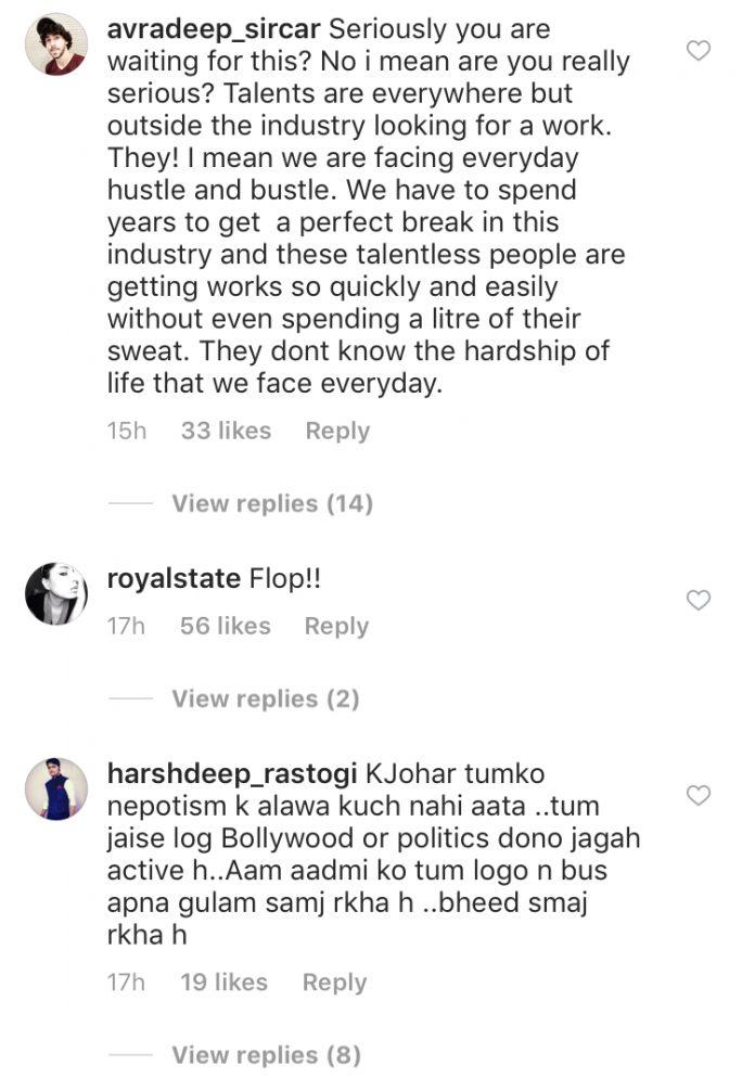 jahnvi ishank 4 'धड़क' के फर्स्ट पोस्टर पर सोशल मीडिया यूजर्स ने दिया शोकिंग रिएक्शन, नेपोटिज्म को लेकर जाह्नवी-ईशानऔर करण जौहर हुए ट्रोल