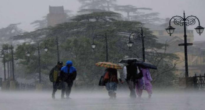 mansoon मौसम विभाग ने जारी किया 13 राज्यों में भारी बारिश का अलर्ट