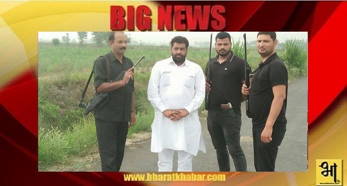 mukiya अब दिल्ली तक जमीन पर कब्जा करने जाते हैं मेरठ जिला पंचायत अध्यक्ष के गनर और पिता