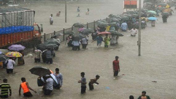 मौसम विभाग ने मुंबई समेत महाराष्ट्र के छह जिलों में दी भारी बारिश की चेतावनी